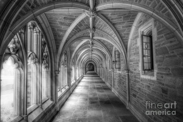 College Photograph - Gothic Hall At Princeton Nj by Michael Ver Sprill