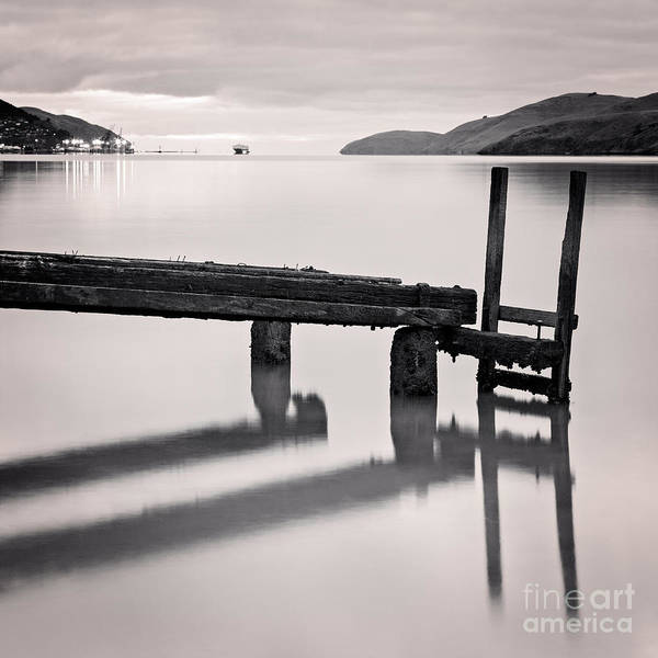 South Bank Photograph - Governors Bay Lyttelton Harbour by Colin and Linda McKie