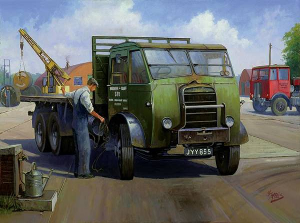 Matador Wall Art - Painting - Gpo Foden by Mike Jeffries