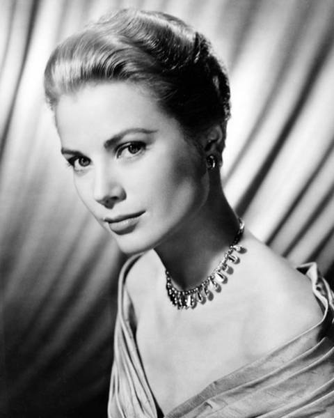 Wall Art - Photograph - Grace Kelly by Silver Screen