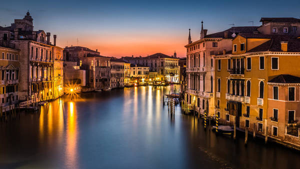 Photograph - Grand Canal by Mihai Andritoiu