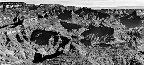 Photograph - Grand Canyon Navajo Point Panorama At Sunrise  by Bob and Nadine Johnston