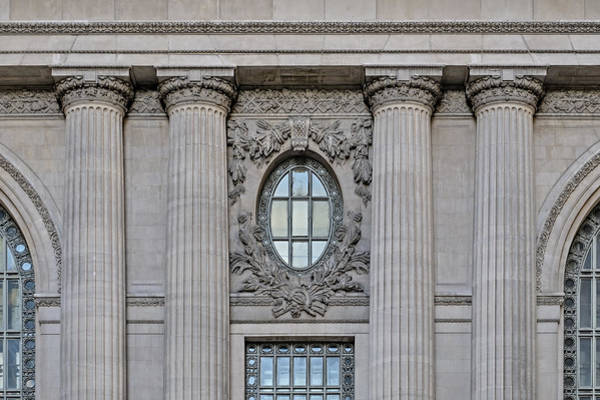 Photograph - Grand Central Terminal Facade  by Susan Candelario