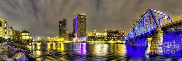 Wall Art - Photograph - Grand Rapids Panorama by Twenty Two North Photography