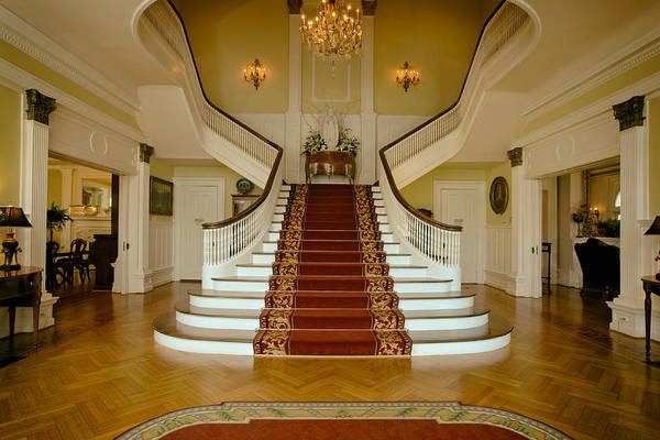 Pleasing Photograph - Grand Staircase - Alabama Governor's Mansion by Mountain Dreams