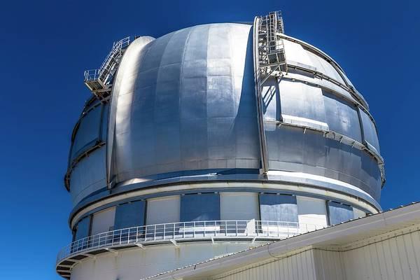 Astrophysical Wall Art - Photograph - Grantecan Telescope by Alfred Pasieka