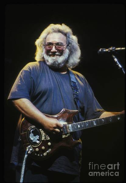 Bluegrass Photograph - Grateful Dead - Uncle Jerry by Concert Photos