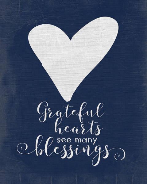 Wall Art - Painting - Grateful Heart by Jo Moulton