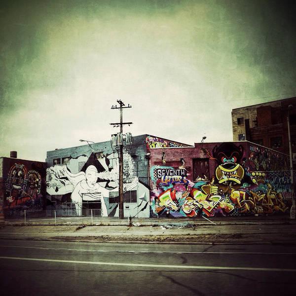 Photograph - Gratiot Graffiti by Natasha Marco