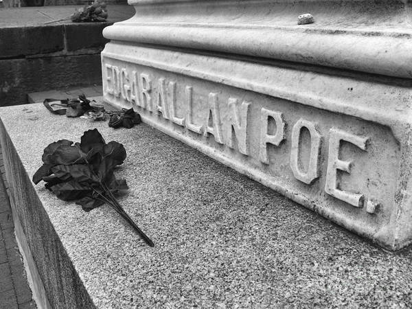Maryland Wall Art - Photograph - Grave Of Edgar Allen Poe In Baltimore Maryland by William Kuta