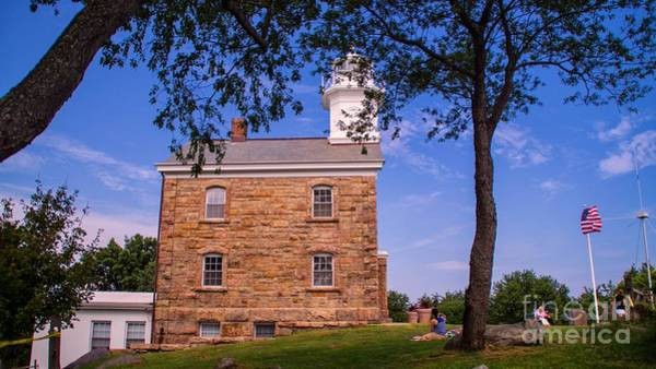 Photograph - Great Captain Island Light. by New England Photography
