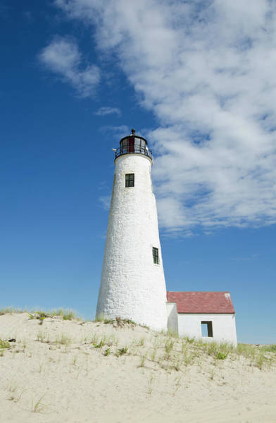 Nantucket Photograph - Great Point Lighthouse, Nantucket by Nine Ok