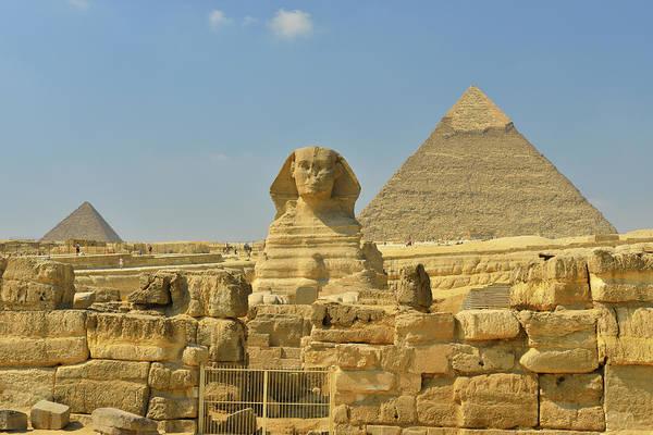 Giza Photograph - Great Sphinx Of Giza by Raimund Linke