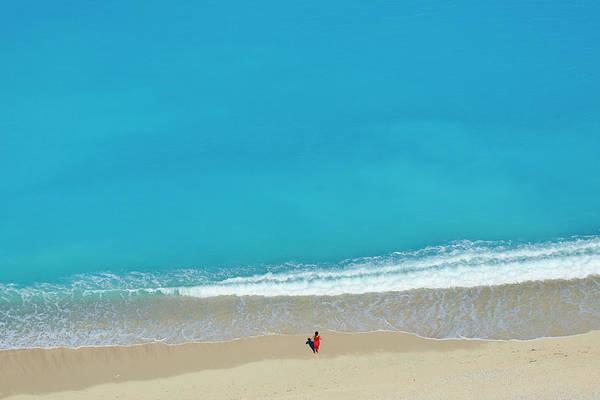 Beach Holiday Photograph - Greece, Ionian Island, Cephalonia by Tuul & Bruno Morandi