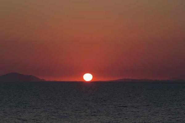 Wall Art - Photograph - Greece.  Peloponnese Sunset by Ken Welsh