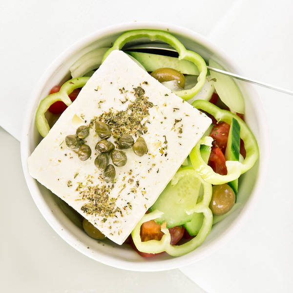 Bell Peppers Photograph - Greek Salad by Tom Gowanlock