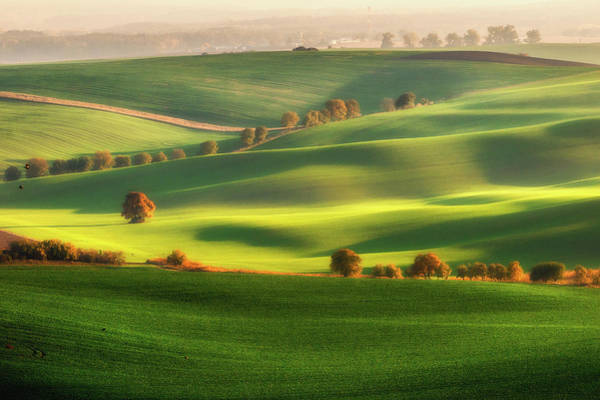 Wall Art - Photograph - Green Fields by Piotr Krol (bax)