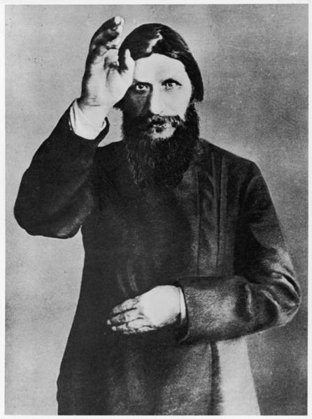Wall Art - Photograph - Grigori Rasputin  Russian Mystic by Mary Evans Picture Library