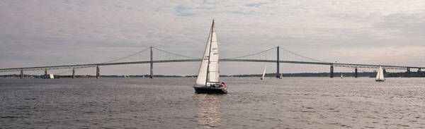 Swan Boats Photograph - Gryphon Swan 44 Yacht Sailing by Panoramic Images