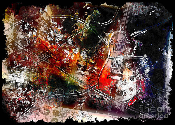Painting - Guitar Melody by Claire Bull