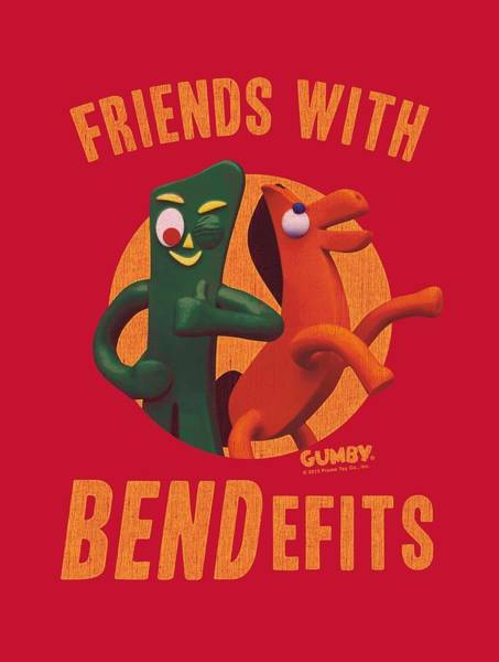 Gumby Digital Art - Gumby - Bendefits by Brand A