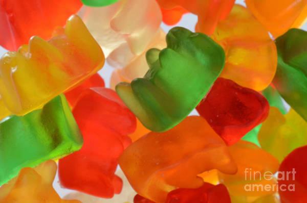 Wall Art - Photograph - Gummy Bears by Photo Researchers, Inc.