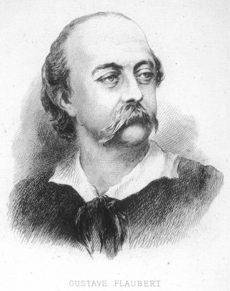 Wall Art - Drawing - Gustave Flaubert -  French Writer by Mary Evans Picture Library