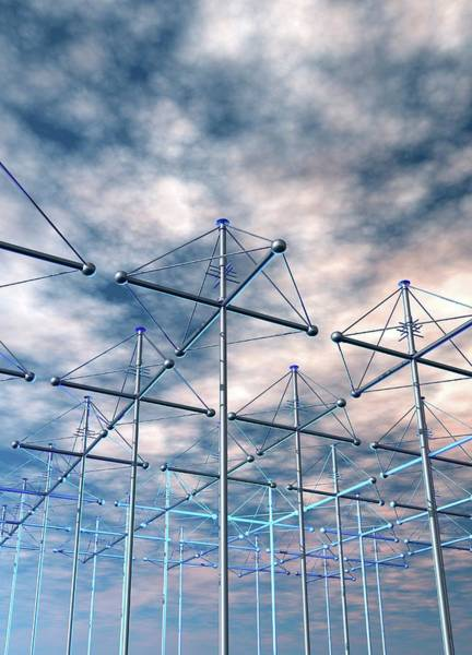 Wall Art - Photograph - Haarp Antenna Array by Victor Habbick Visions/science Photo Library