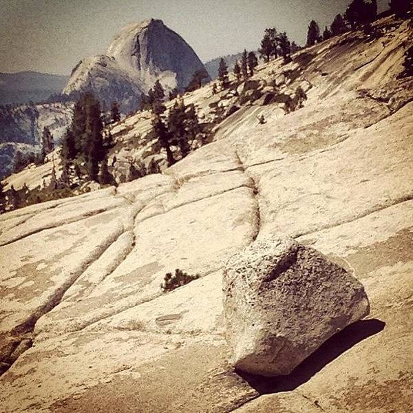 Instagram Wall Art - Photograph - Half Dome by Jill Battaglia
