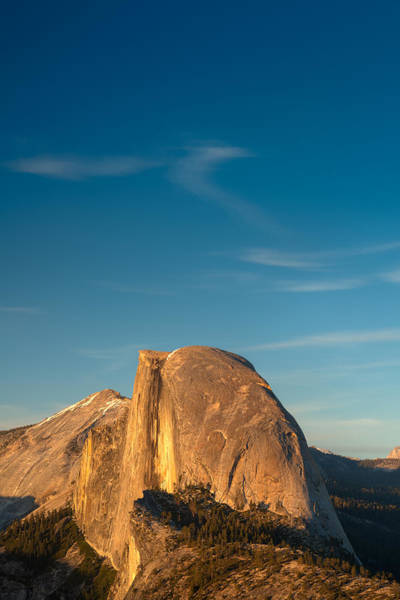 Yosemite Half Dome Wall Art - Photograph - Half Dome Sky by Steve Gadomski