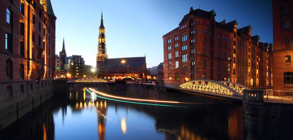 Photograph - Hamburg Speicherstadt by Marc Huebner