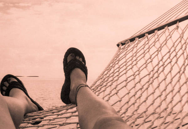 Andros Photograph - Hammock by Christy Usilton