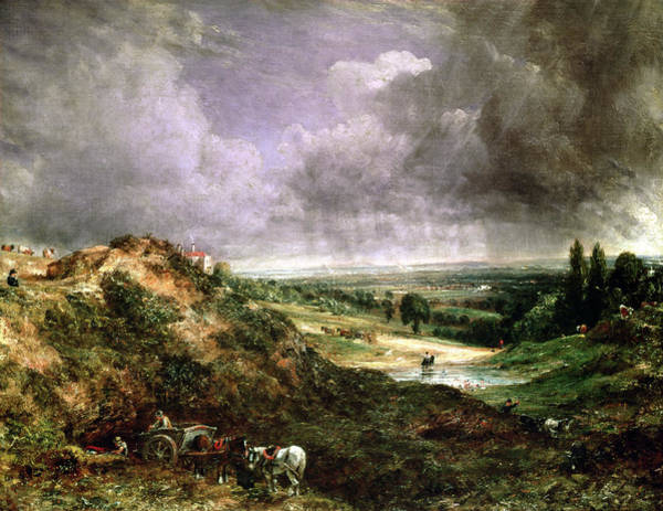 Wall Art - Painting - Hampstead Heath by John Constable