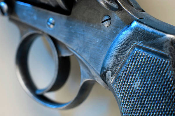 Wall Art - Photograph - Handgun Trigger by Jim Varney/science Photo Library