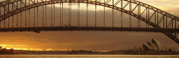 Suspended Photograph - Harbor Bridge Sydney Australia by Panoramic Images
