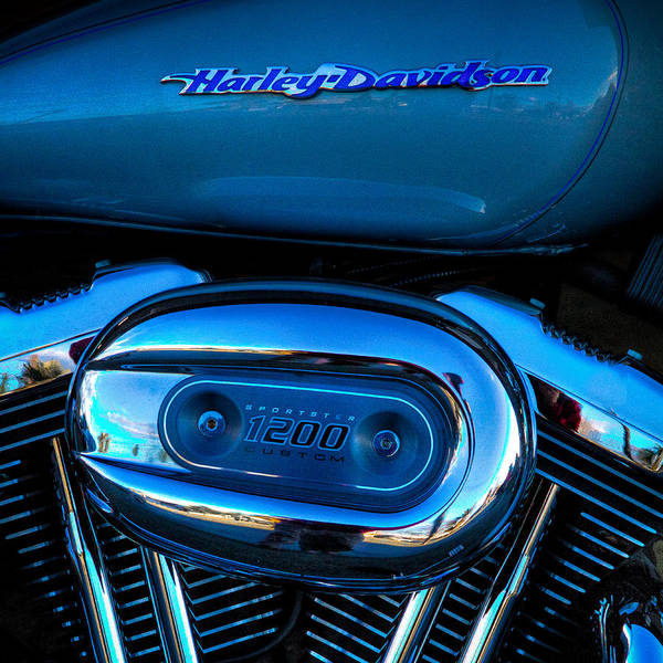 Photograph - Harley Davidson Sportster 1200 by David Patterson