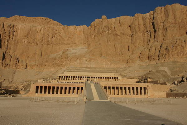 Photograph - Hatshepsut Temple by Olaf Christian