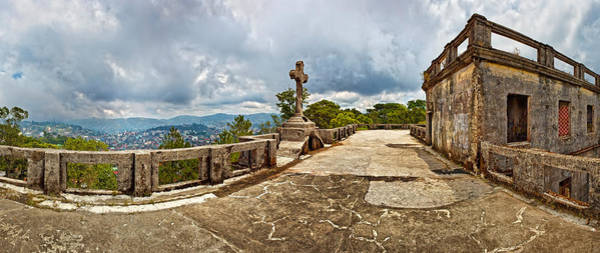 Philippines Photograph - Haunted Diplomat Hotel, Baguio City by Panoramic Images