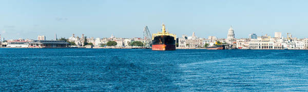 Wall Art - Photograph - Havana Harbor Seen From East Side by Panoramic Images