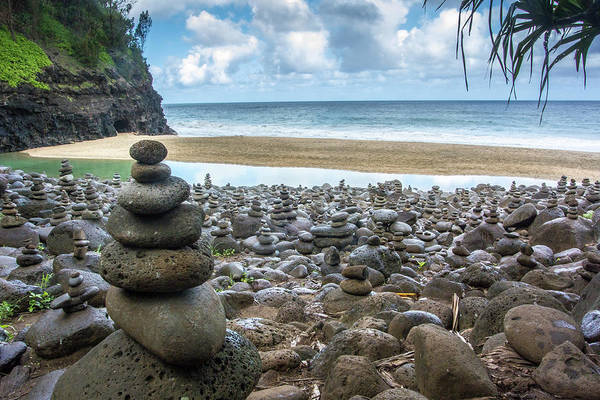 Kalalau Trail Wall Art - Photograph - Hawaii, Kalalau Trail, Kauai, Napali by Lee Klopfer