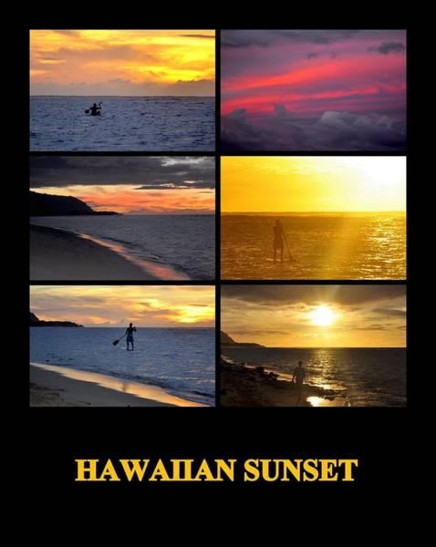 Photograph - Hawaiian Sunset by AJ  Schibig
