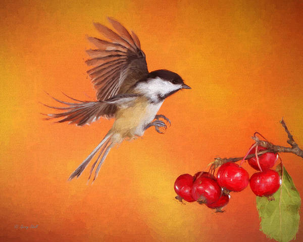 Digital Art - Heading Home For Lunch by Gerry Sibell