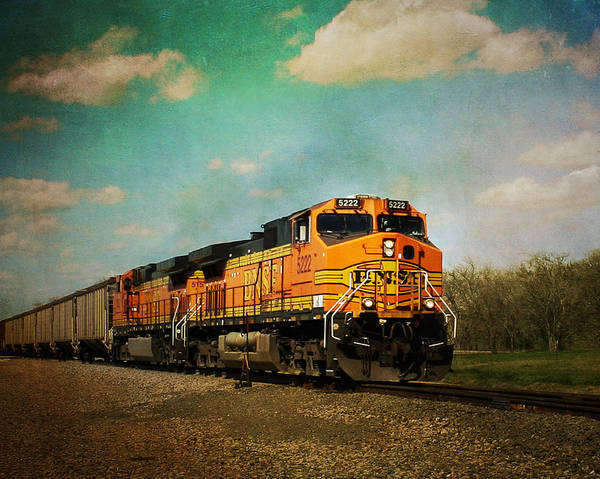 Photograph - Hear The Train A Coming by Jeff Mize