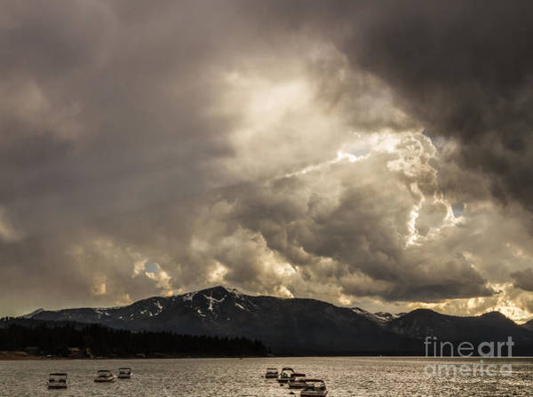 South Lake Tahoe Photograph - Heavenly Light by Mitch Shindelbower