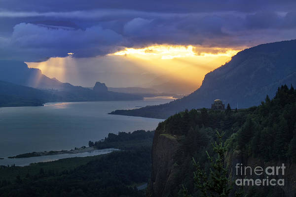 Photograph - Heavenly Sunrise by Jon Ares