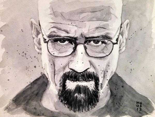 Bryan Painting - Heisenberg by Max Good