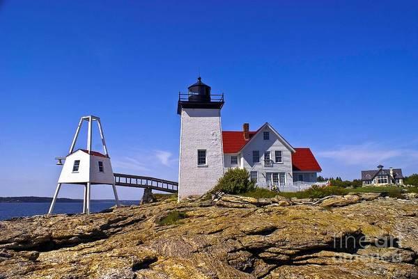 Photograph - Hendricks Head Light. by New England Photography