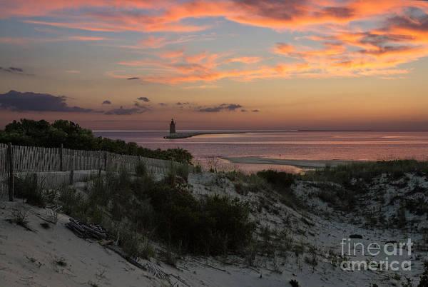 Lewes Photograph - Henlopen Sunset by Robert Pilkington