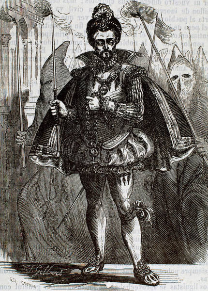Procession Photograph - Henry IIi Of France (1551-1589 by Prisma Archivo