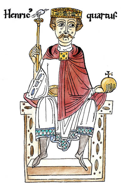 Drawing - Henry Iv Of Germany (1015-1106) by Granger